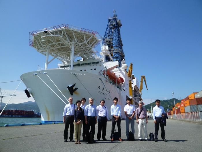 地球深部探査船「ちきゅう」見学会へ行って来ました。