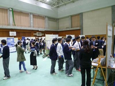 神戸高専企業展示会を開催しました